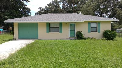 Ocala Single Family Home For Sale: 5505 NE 11th Avenue