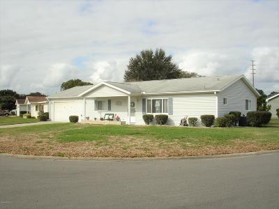 Summerfield FL Single Family Home Pending: $144,900