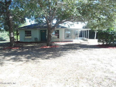Ocklawaha Single Family Home Pending-Continue to Show: 10645 SE Hwy 464c