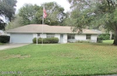 Dunnellon Single Family Home For Sale: 8902 SW 191 Circle