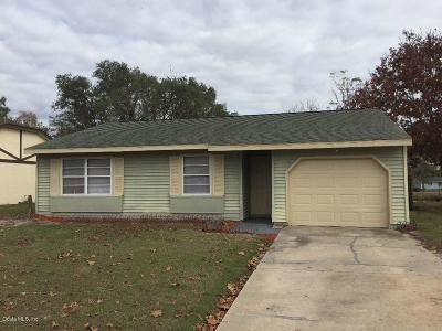 Ocala Single Family Home For Sale: 20 Spring Loop Circle