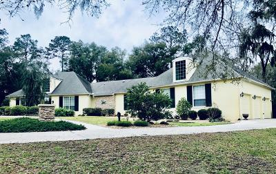 Ocala Single Family Home For Sale: 676 SW 89th Terrace