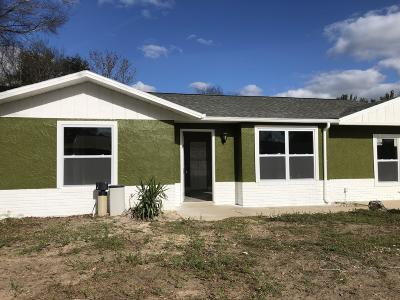 Ocala Single Family Home For Sale: 32 Oak Loop