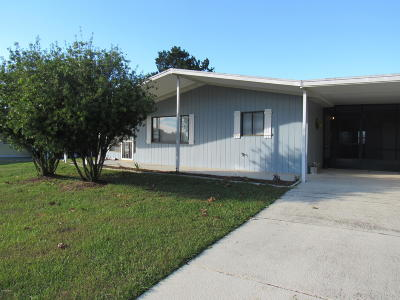 Single Family Home For Sale: 8973 SW 103rd Place