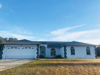 Marion Oaks North, Marion Oaks South, Marion Oaks Rnc Single Family Home For Sale: 2600 SW 175th Loop