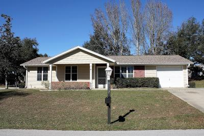 Ocala Single Family Home For Sale: 8717 SW 116th Lane Road