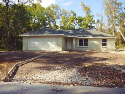 Belleview FL Single Family Home For Sale: $161,000