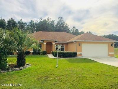Ocala Single Family Home For Sale: 4472 SW 98th Street