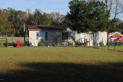Citra Single Family Home For Sale: 4761 E Hwy 316