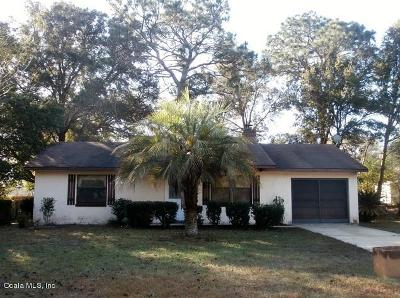 Dunnellon Single Family Home For Sale: 20160 SW 80 Place Road