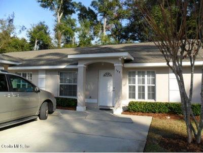 Ocala Condo/Townhouse For Sale: 3630 NE 8th Place #103