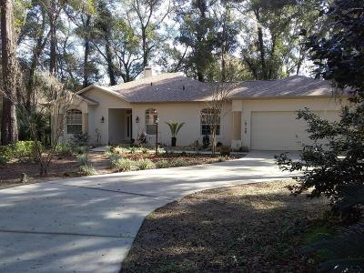 Dunnellon Single Family Home For Sale: 19120 SW 101st Place Road