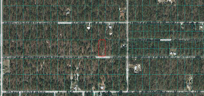 Dunnellon Residential Lots & Land For Sale: Lot 22 NW Shamrock Ave