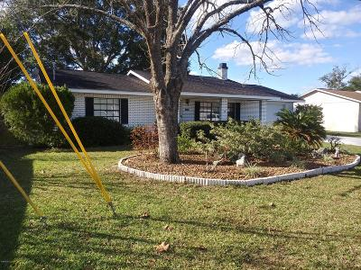 Belleview FL Single Family Home For Sale: $134,900