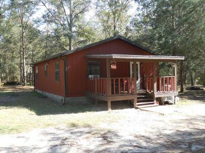 Williston FL Single Family Home For Sale: $99,500
