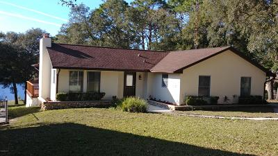Ocklawaha Single Family Home For Sale: 5830 SE 168th Court