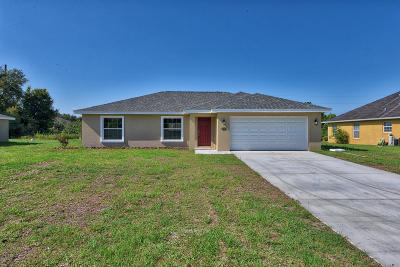 Ocala Single Family Home For Sale: 3208 SW 128th Street Road Road