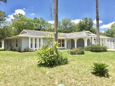 Marion Oaks North, Marion Oaks Rnc, Marion Oaks South Single Family Home For Sale: 15124 SW 50th Avenue Road