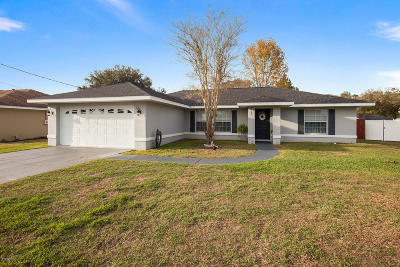 Ocala Single Family Home For Sale: 89 Teak Road