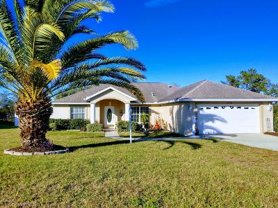 Ocala Single Family Home For Sale: 4775 SW 103rd Place