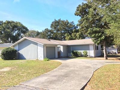 Ocala Single Family Home For Sale: 480 Water Run