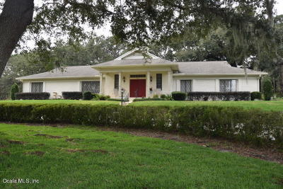 Ocala Single Family Home For Sale: 4764 NW 78th Avenue