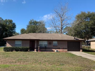 Summerfield Single Family Home Pending-Continue to Show: 13720 SE 50th Court