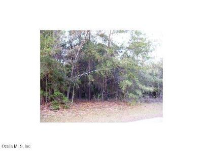 Dunnellon Residential Lots & Land For Sale: SW 73 Loop