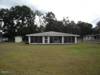 Salt Springs Single Family Home For Sale: 24420 NE 127 Street
