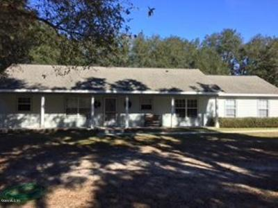 Dunnellon Single Family Home For Sale: 6207 W Peter Lane
