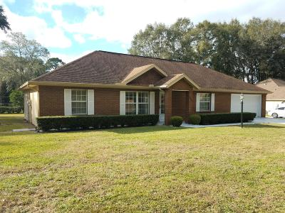 Ocala Single Family Home For Sale: 3580 SE 56th Avenue