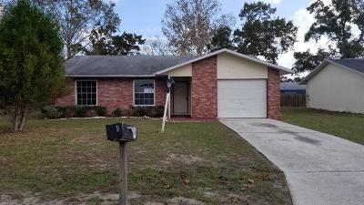 Ocala Single Family Home For Sale: 11 Spring Lane Way