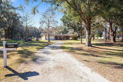 Dunnellon Single Family Home For Sale: 13900 SW Hwy 484