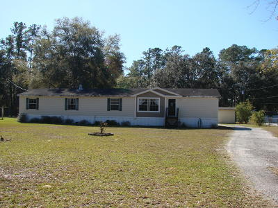 Silver Springs Single Family Home For Sale: 5400 N 314 A Highway