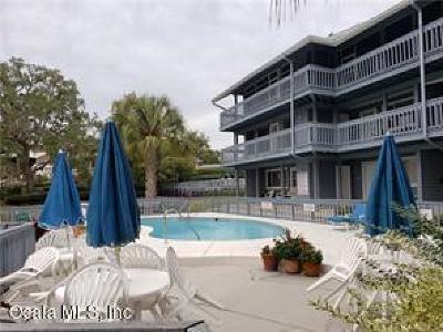 Dunnellon Condo/Townhouse For Sale: 20800 River Drive #34