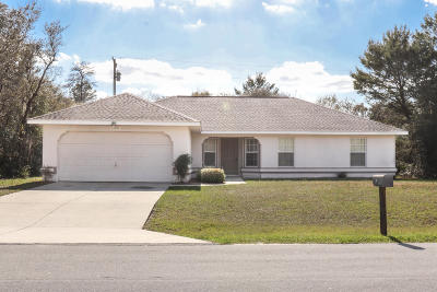 Marion Oaks North, Marion Oaks Rnc, Marion Oaks South Single Family Home For Sale: 13800 SW 33rd Court Road