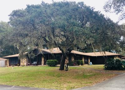 Citrus County Single Family Home For Sale: 1112 E Bloomfield Drive