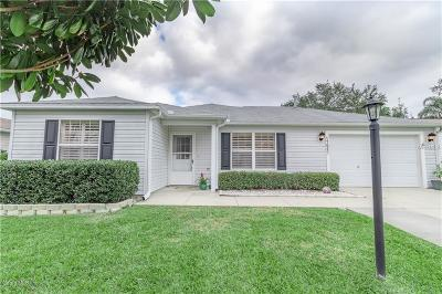 The Villages Single Family Home For Sale: 17623 SE 93rd Butler Court