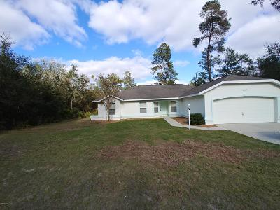 Marion Oaks North, Marion Oaks Rnc, Marion Oaks South Single Family Home For Sale: 5117 SW 165th Street Road