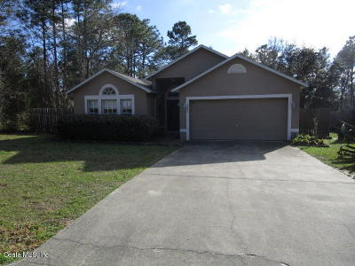Marion Oaks North, Marion Oaks Rnc, Marion Oaks South Single Family Home For Sale: 3828 SW 131st Place Road