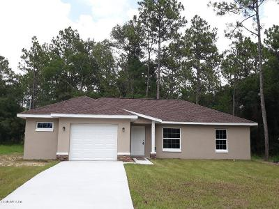 Ocala Single Family Home For Sale: 4157 SW 159th Court