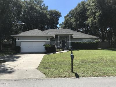 Ocala Single Family Home For Sale: 2696 NE 35th Street