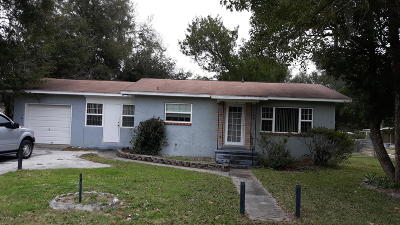 Belleview FL Single Family Home For Sale: $112,000