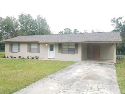 Ocala Single Family Home For Sale: 3471 NW 16th Court