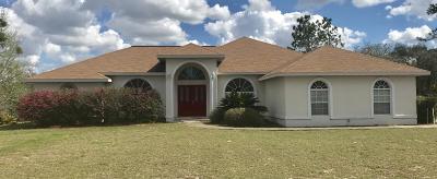 Williston Single Family Home For Sale: 5291 NE 136th Avenue