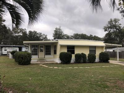 Ocala Mobile/Manufactured For Sale: 4121 SE 33rd Place