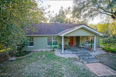 Reddick Single Family Home For Sale: 17130 NW 120th Terrace Road