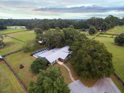 Marion County Farm For Sale: 15353 NW 112th Place Road