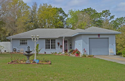 Dunnellon Single Family Home For Sale: 8392 SW 203rd Court