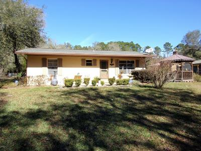 Dunnellon Single Family Home Pending-Continue to Show: 18255 SW 57 Place